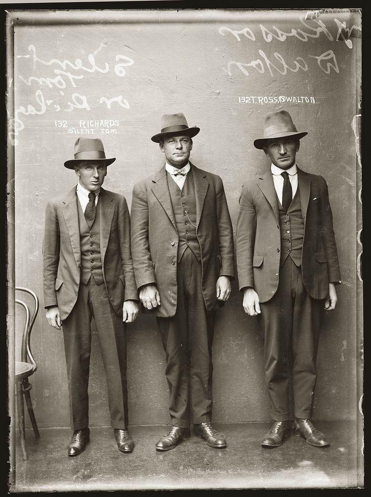 Portraits de criminels australiens dans les années 1920 photo police sydney australie mugshot 1920 43