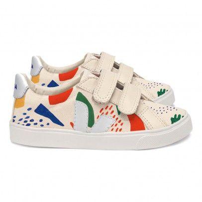 Bobo Choses Esplar Velcro Sneakers Ecru  Veja