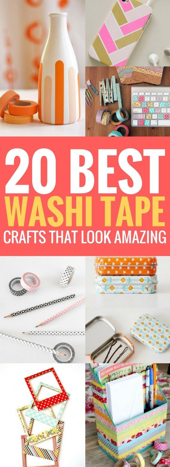 20 Best Washi Tape Ideas That Would