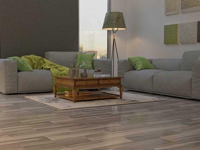 Chic Wood Ash Floor Tile | CTM
