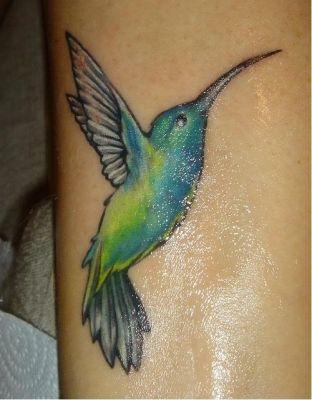 Tattoo: Colibri tattoo_57
