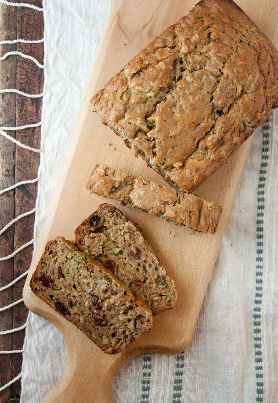 zucchini oatmeal bread
