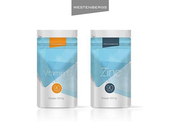 Westernbergs Protein Shakes by Batsirai Madzonga, via Behance
