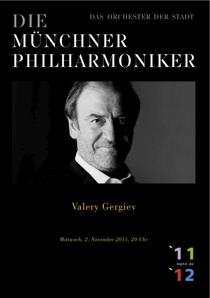 19 best Valery Gergiev images on Pinterest Orchestra, Munich and