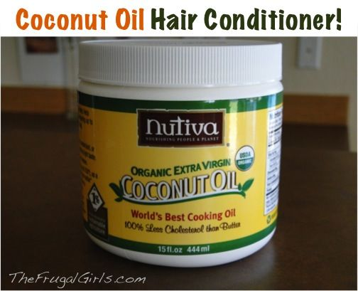 Coconut Oil Leave-In Hair Conditioner ~ from TheFrugalGirls.com #coconut #oil