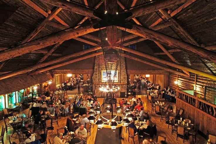 Lake Yellowstone Hotel Dining Room Amusing Inspiration