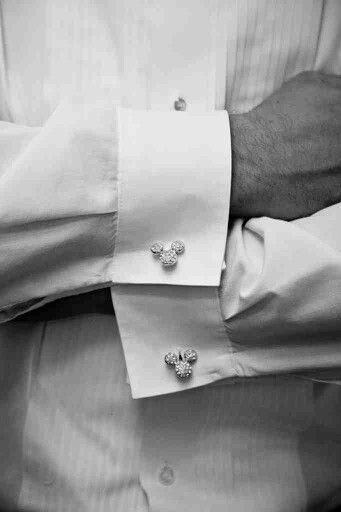 Love the mickey cufflinks
