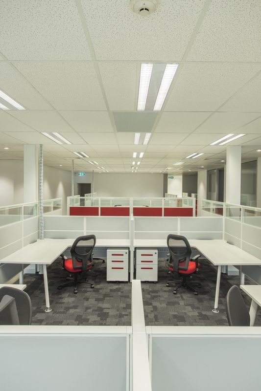 Williams Electrical office fit-out by Burgtec