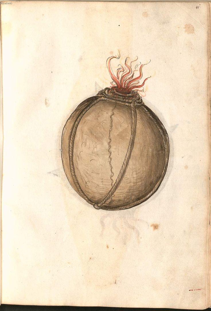 Martin Merz: Feuerwerksbuch. Nordbayern/Franken um 1473. Bayerische Staatsbibilothek München, BSB Cgm 599, Fol. 41r