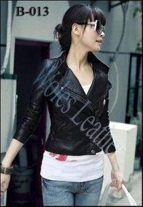 Model Jaket Kulit Wanita Korean Style; Kode: B-013