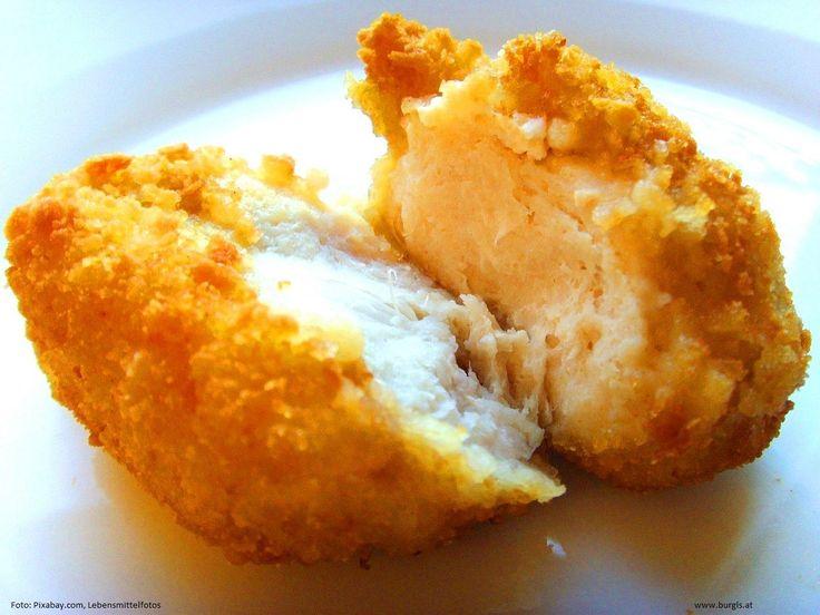 Tipp der Woche: Die Burgl's Herzhafte Kartoffelsuppe ist ideal zum Panieren.