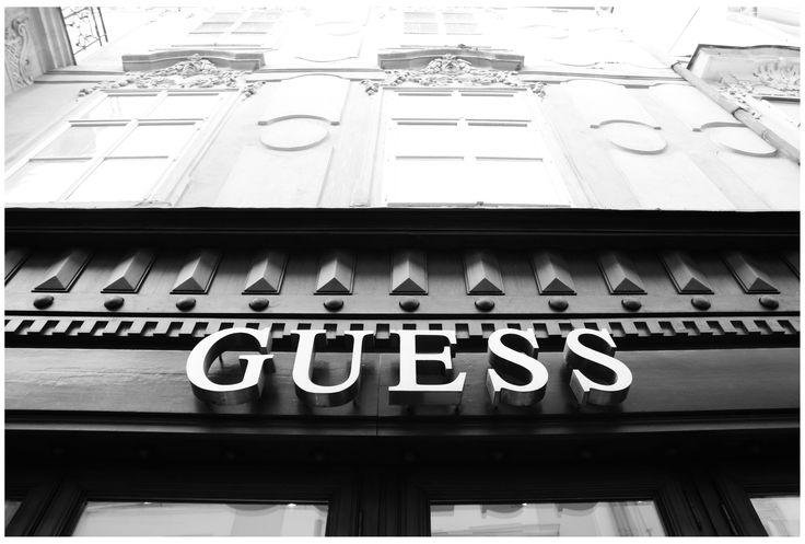 Photo by me. Photo: Diána Rigó Czech Republic, Prague - #CzechRepublic #Prague #Praha #photography #BlackAndWhite #Guess