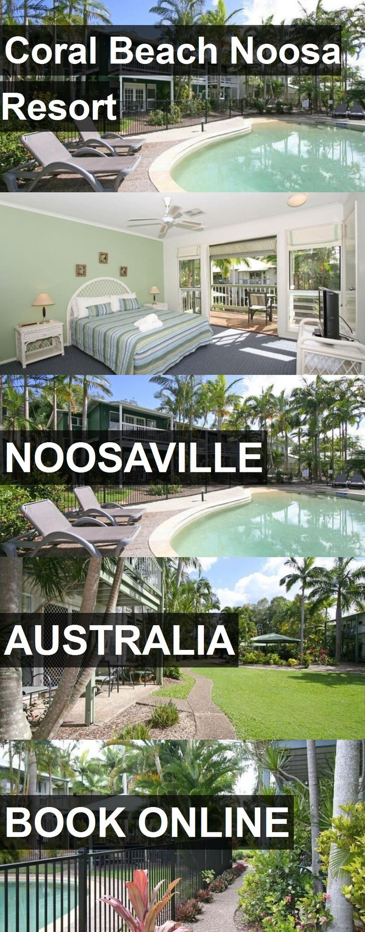 Hotel Coral Beach Noosa Resort in Noosaville, Australia. For more information, photos, reviews and best prices please follow the link. #Australia #Noosaville #travel #vacation #hotel