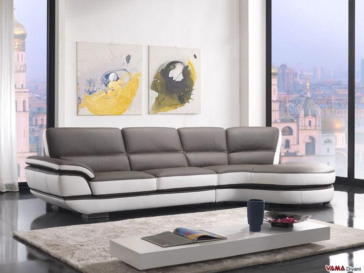 Die besten 25+ Grey leather corner sofa Ideen auf Pinterest Ikea - grose couch kleines wohnzimmer