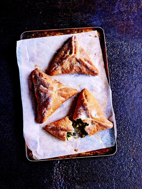 Spinach, Feta & Pine Nut Parcels   Paul Hollywood
