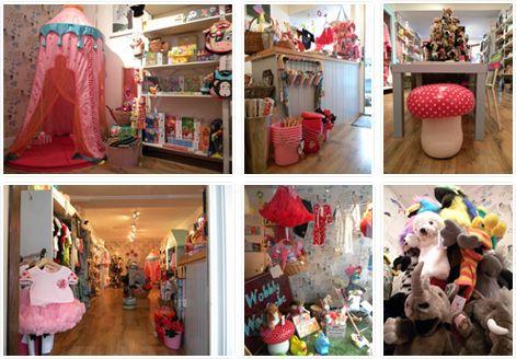 Wobbly Wardrobe in Rye - lovely kids shop