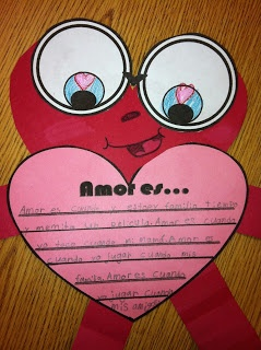 Writing Activity for Valentine's day!