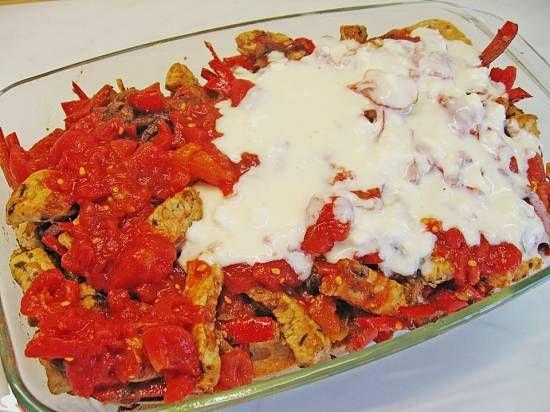 Ovenschotel Turkse Kebab Met Tomaten-feta Saus recept | Smulweb.nl
