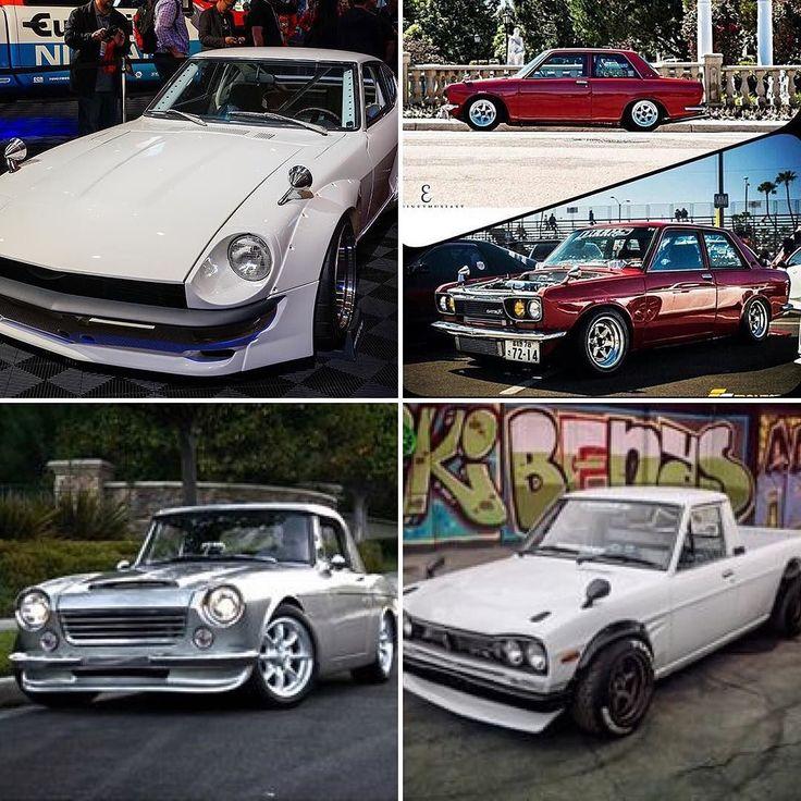 Favorite Datsun....Ready GO!  Datsun Z series? 510? Roadster? 1200 truck? Owner -@sungkangsta @dnicle @rawloo Tag a friend. #Datsun #datsun240z #datsun260z #datsun280z #datsungarage #roadster #fairlady #1200 #datsuntruck #jdm #nismo #greddy #jayleno #zcar #s30