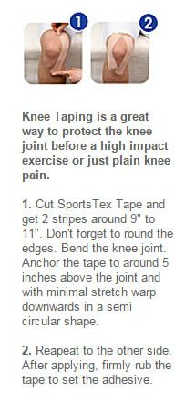 Learn how to use Kinesiology tape on the Knee.