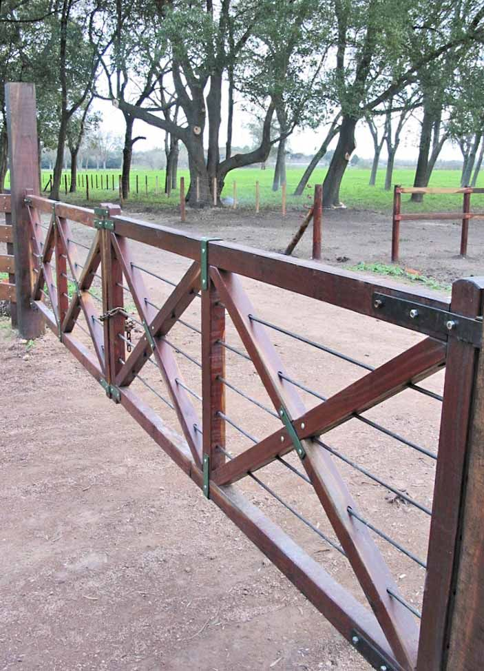 Horse Ranch Fence Gate