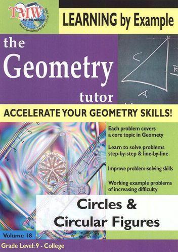 The Geometry Tutor: Circles & Circular Figures [DVD] [2010]