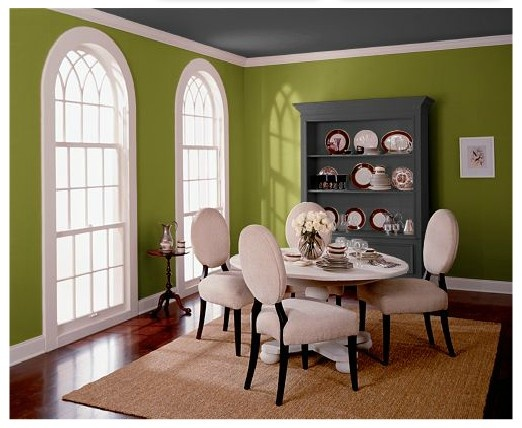 Behr Retro Avocado Ul200 20 Paint Colors Pinterest Dining Room Walls And