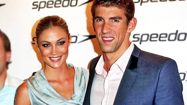 Michael Phelps Makes Red Carpet Debut With Girlfriend Megan Rossee
