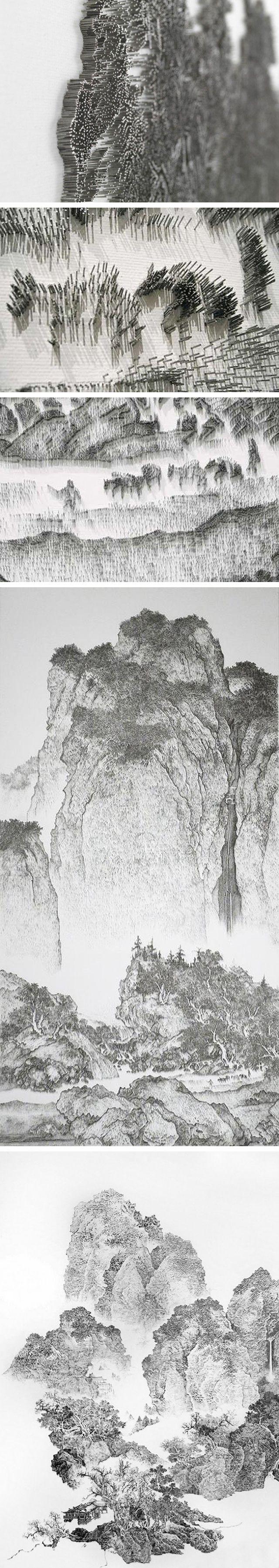 Chen Chun-Hao – Nail-Gun Art