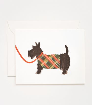 Rifle Paper Co. - Dog Series - Scottish Terrier