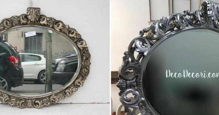 Cambio de look de este espejo francés