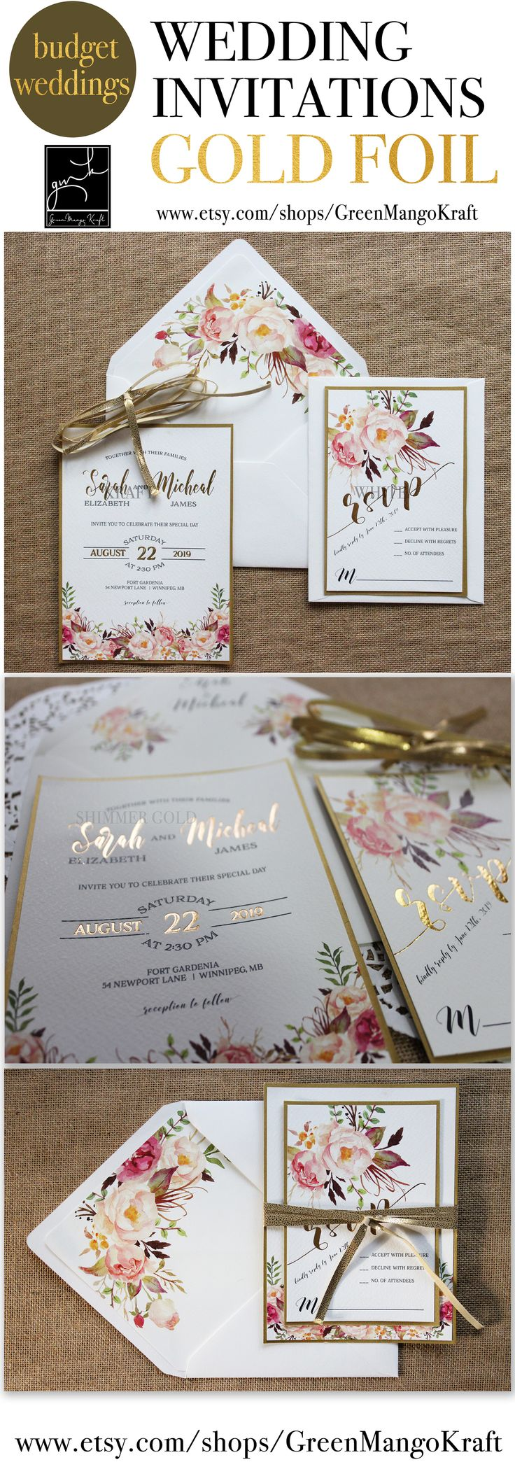 100 Best Wedding Invitations Images On Pinterest Blush Pink