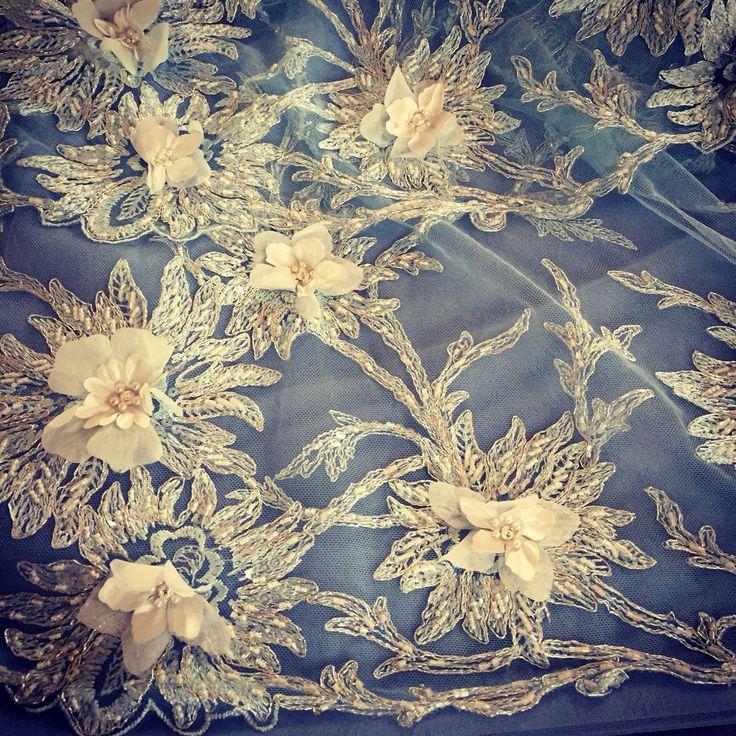 Details blue gown by Elen's ❕