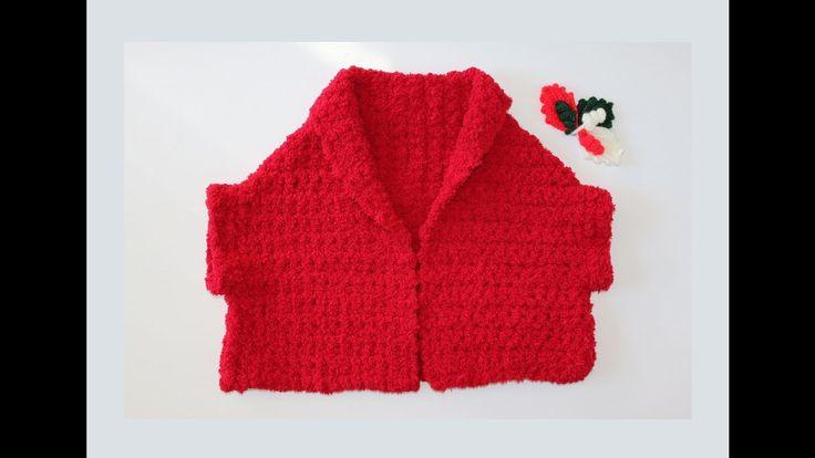 Como hacer torera a crochet.
