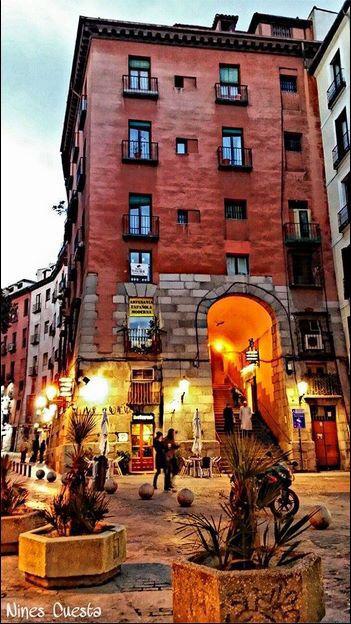 Cava Baja,(Arco de Cuchilleros) Madrid. ESPAÑA