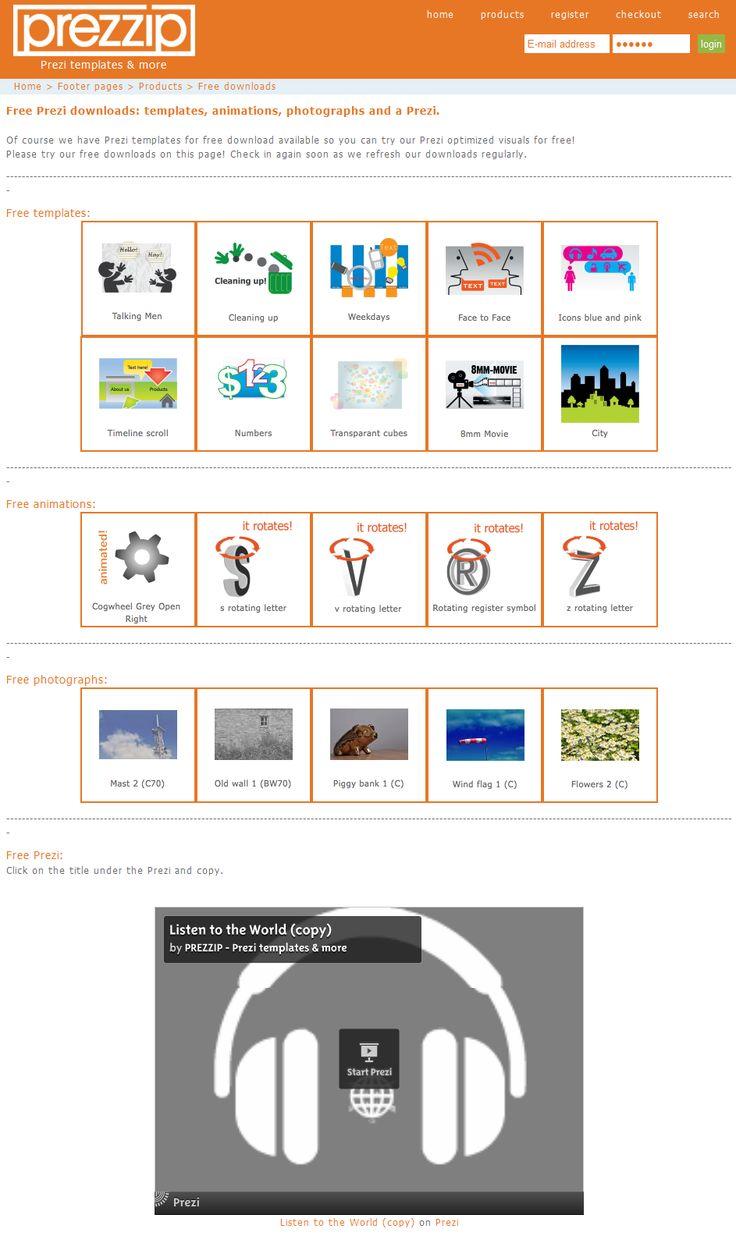 prezzip_prezi template Prezi, Technology websites, Prezi