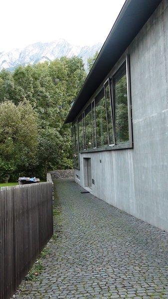 Zumthor House In Haldenstein By Peter Zumthor Materials