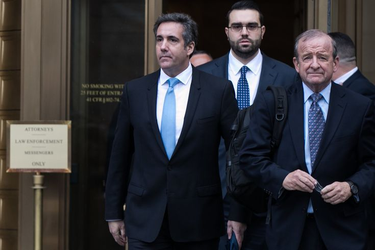 Michael Cohen Has Said He Would Take a Bullet for Trump. Maybe Not Anymore.