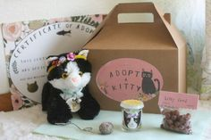 adopt a kitty party theme