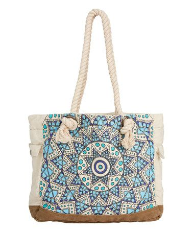 Look what I found on #zulily! Natural Dreamin Beach Tote #zulilyfinds
