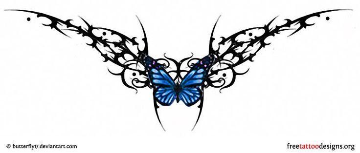 95 Lower Back Tattoos | Tramp Stamp Tribal Tattoo Designs