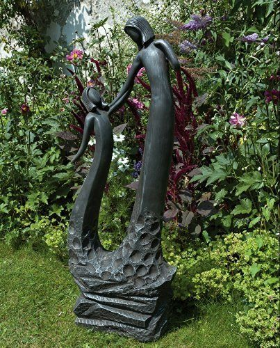 Large Contemporary Art Sculptures   Loving Mother Modern Garden Statue