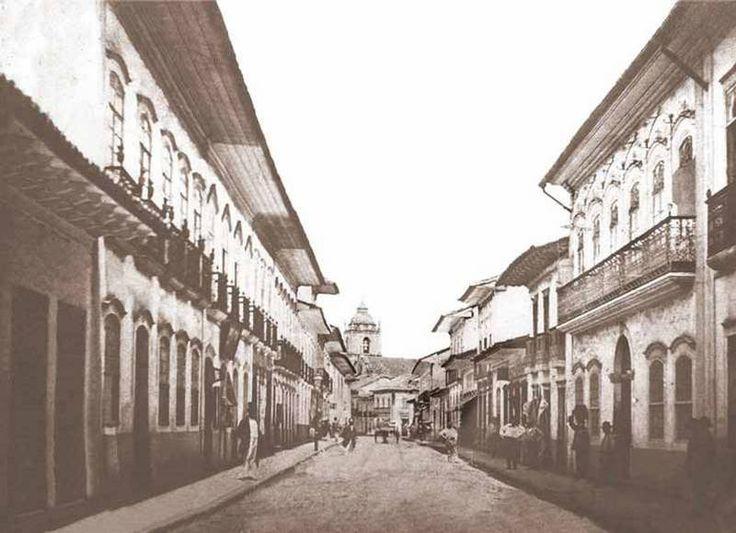 RUA DIREITA, em 1862