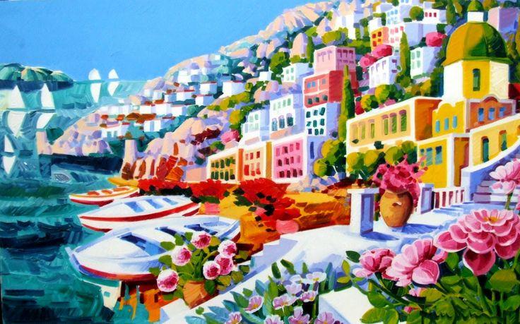 ATHOS-FACCINCANI ; Painter