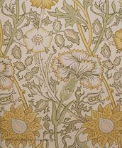 William Morris Pink & Rose Tapet