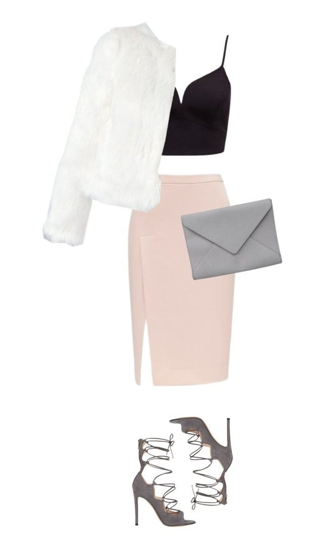 """Untitled #440"" by iisabellak-1 ❤ liked on Polyvore featuring Forever New, n:PHILANTHROPY, Ann Demeulemeester and Gianvito Rossi"