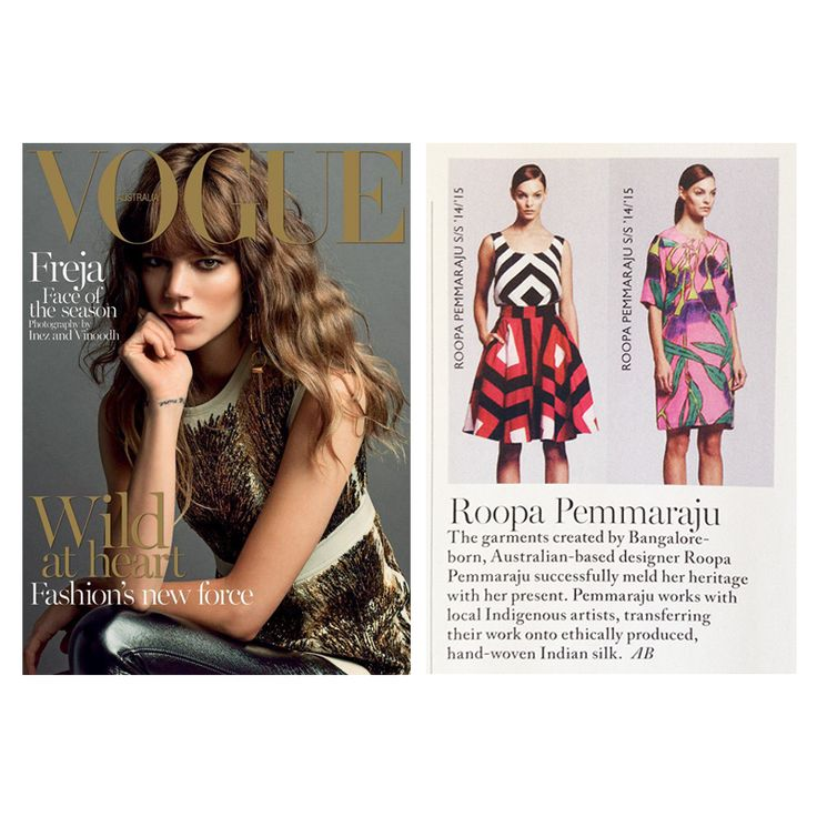 Vogue Australia, September 2014