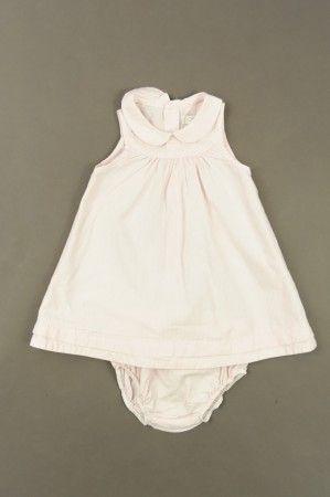 Robe et culotte de la marque Obaïbi en taille 6 mois - Affairesdeptits vetement occasion enfant bebe pas cher