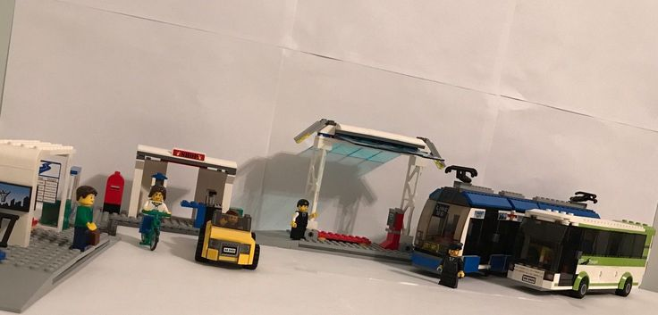 LEGO 8404 Public Transportation (no Street Sweeper but has all instructions)