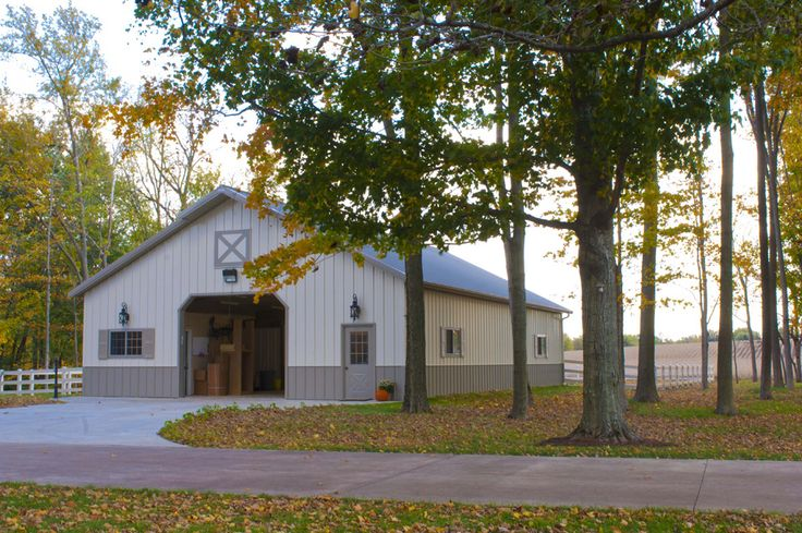 Morton Buildings Horse Barn In Leroy Illinois
